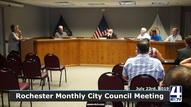 Rochester City Council Meeting - 7-23-19
