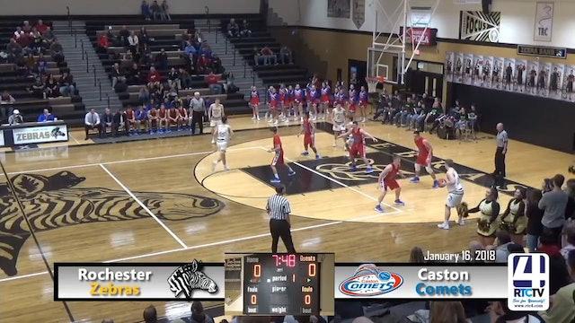 Rochester Boys Basketball vs Caston - 01-16-18