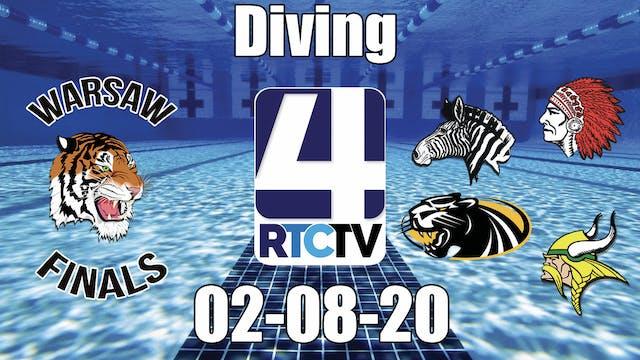 IHSAA Girls Diving Sectional Finals 2...