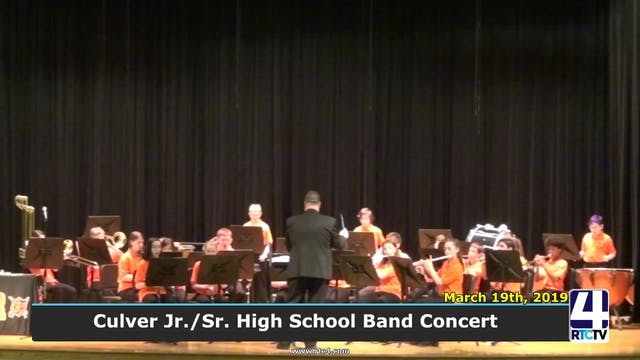 Culver Jr.Sr. High School Band Concer...