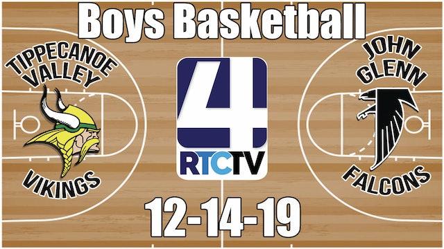 Tippecanoe Valley Boys Basketball vs John Glenn