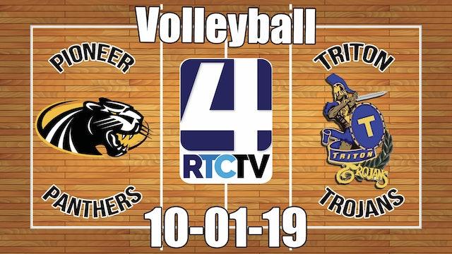 Pioneer Volleyball vs Triton 10-1-19