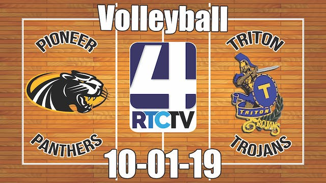 Pioneer Volleyball vs Triton 10-1-19
