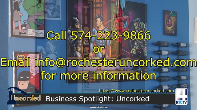 RTCtv4 Local Business Spotlight - UnCorked in Rochester