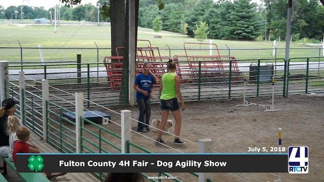 2018 Fullton County 4H Fair - Dog Agi...