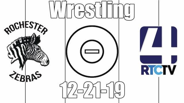 Rochester Wrestling McKee Invite 12-21-19