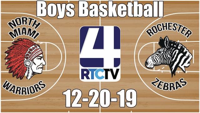 North Miami Boys Basketball vs Rochester 12-20-19