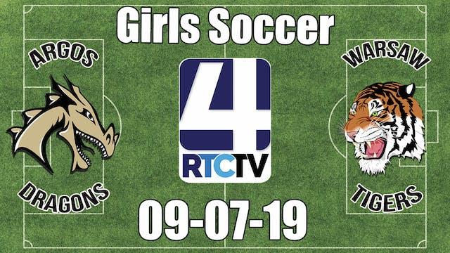 Argos Girls Soccer vs Warsaw - 9-7-19