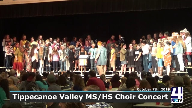 Tippecanoe Valley MS HS Choir Concert - 10-7-19