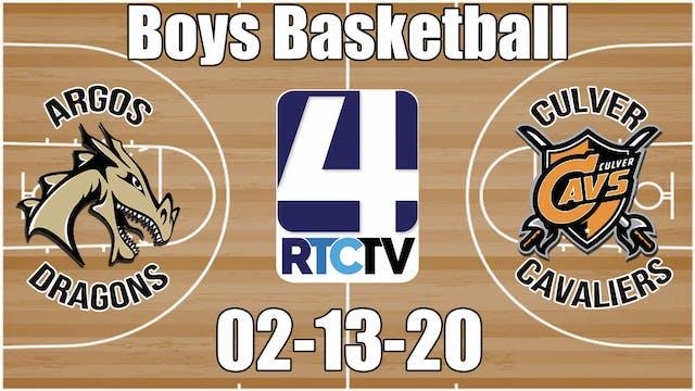Argos Boys Basketball vs Culver 🔔2-13...