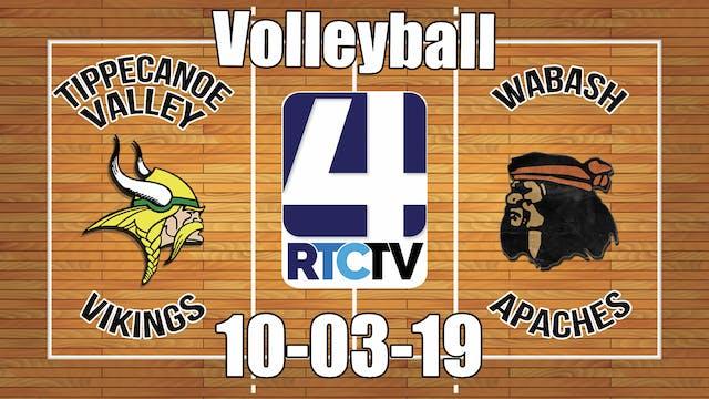 Tippecanoe Valley Volleyball vs Wabas...