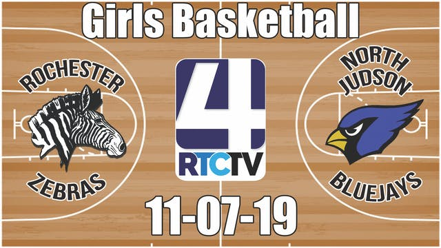 Rochester Girls Basketball vs North J...