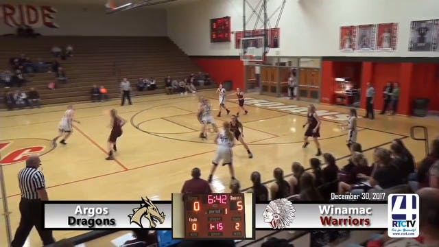 Argos Girls Basketball vs Winamac - 1...