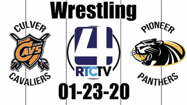 Culver Wrestling vs Pioneer 1-23-20