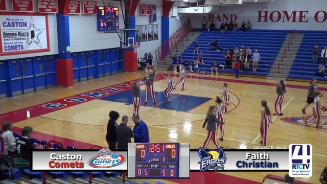 Caston Girls Basketball vs Faith Chri...