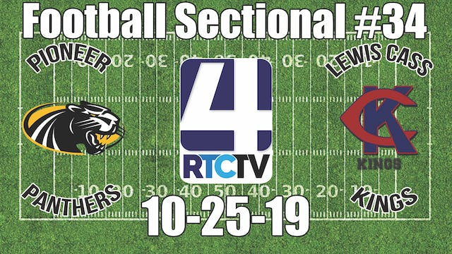 IHSAA Football Sectional #34 Pioneer ...