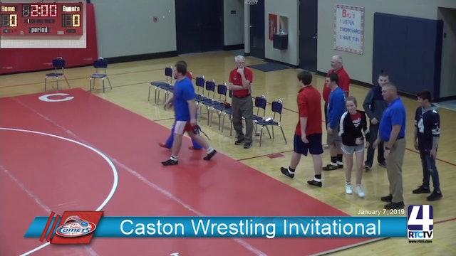 Caston Wrestling vs Pioneer - 1-7-19