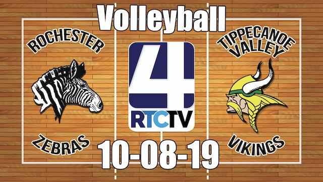 Rochester Volleyball vs Tippecanoe Valley (Senior Night) 10-8-19