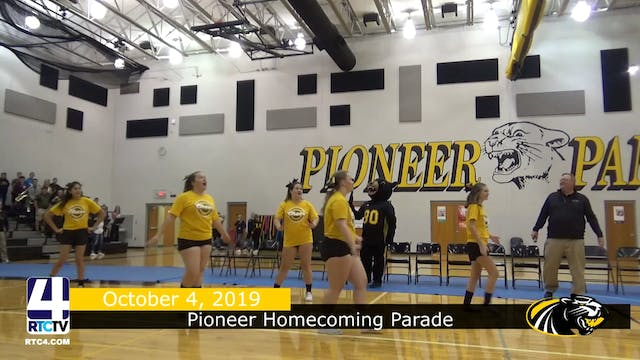 Pioneer Homecoming Pep Session - 10-4-19
