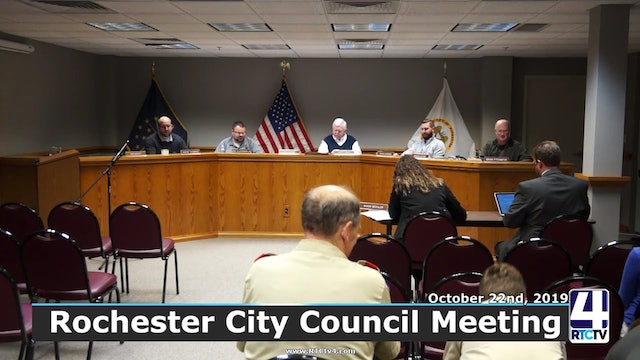 Rochester City Council Meeting 10-22-19