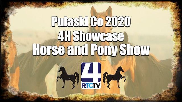 Pulaski Co 4H Horse and Pony Show 7-5-20