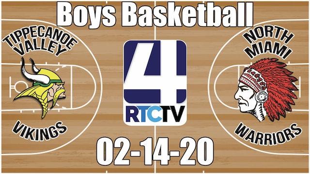 Tippecanoe Valley Boys Basketball vs North Miami 2-14-20