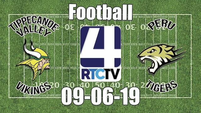 Tippecanoe Valley Football @ Peru -9-6-19