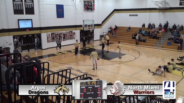 Argos Boys Basketball vs North Miami - 2-15-19