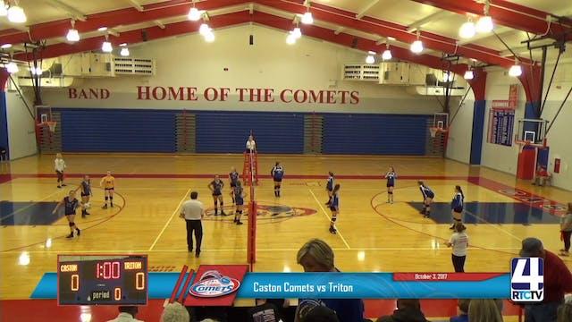 Caston Volleyball vs Triton - 10-3-17