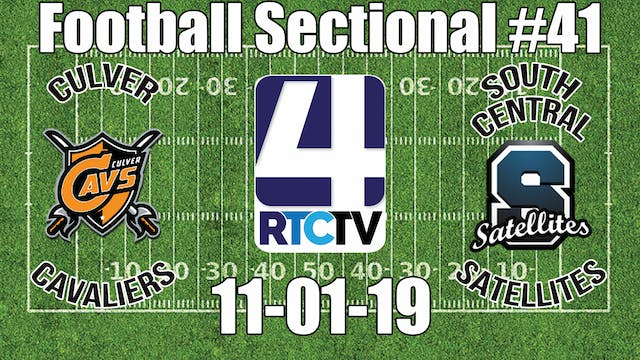 IHSAA Football Sectional #41 Culver v...