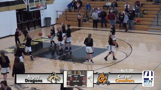 Argos Girls Basketball vs Culver - 11...
