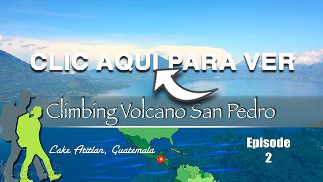 Volcano San Pedro Guatemala