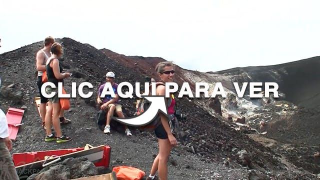 Volcano Boarding Leon Nicaragua