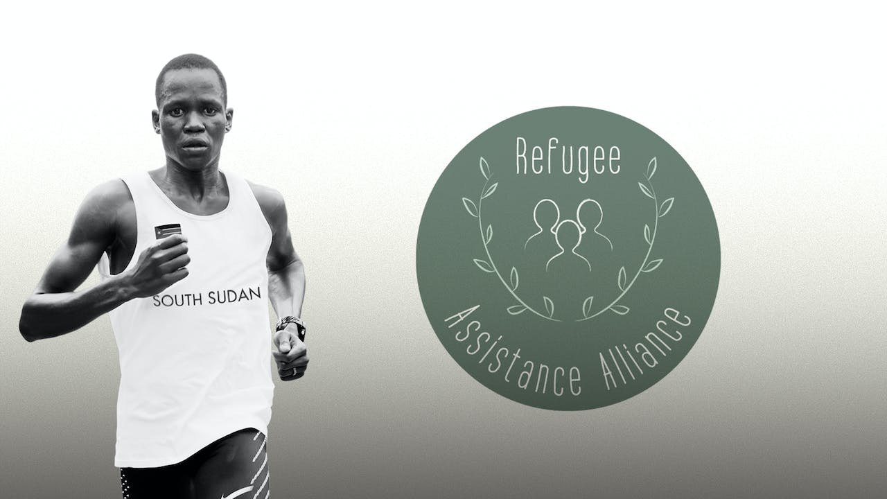 Runner hosted by Refugee Assistance Alliance