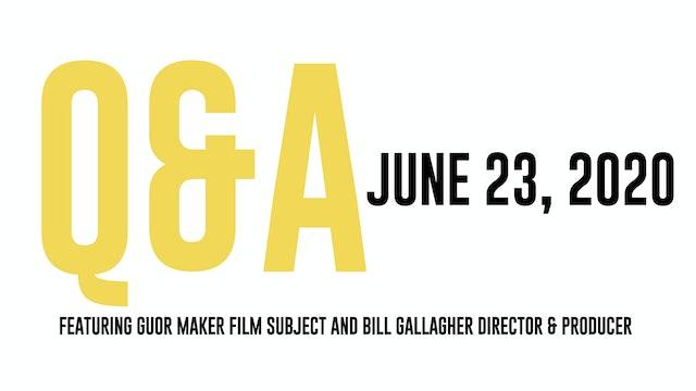 RUNNER Q&A June 23, 2020