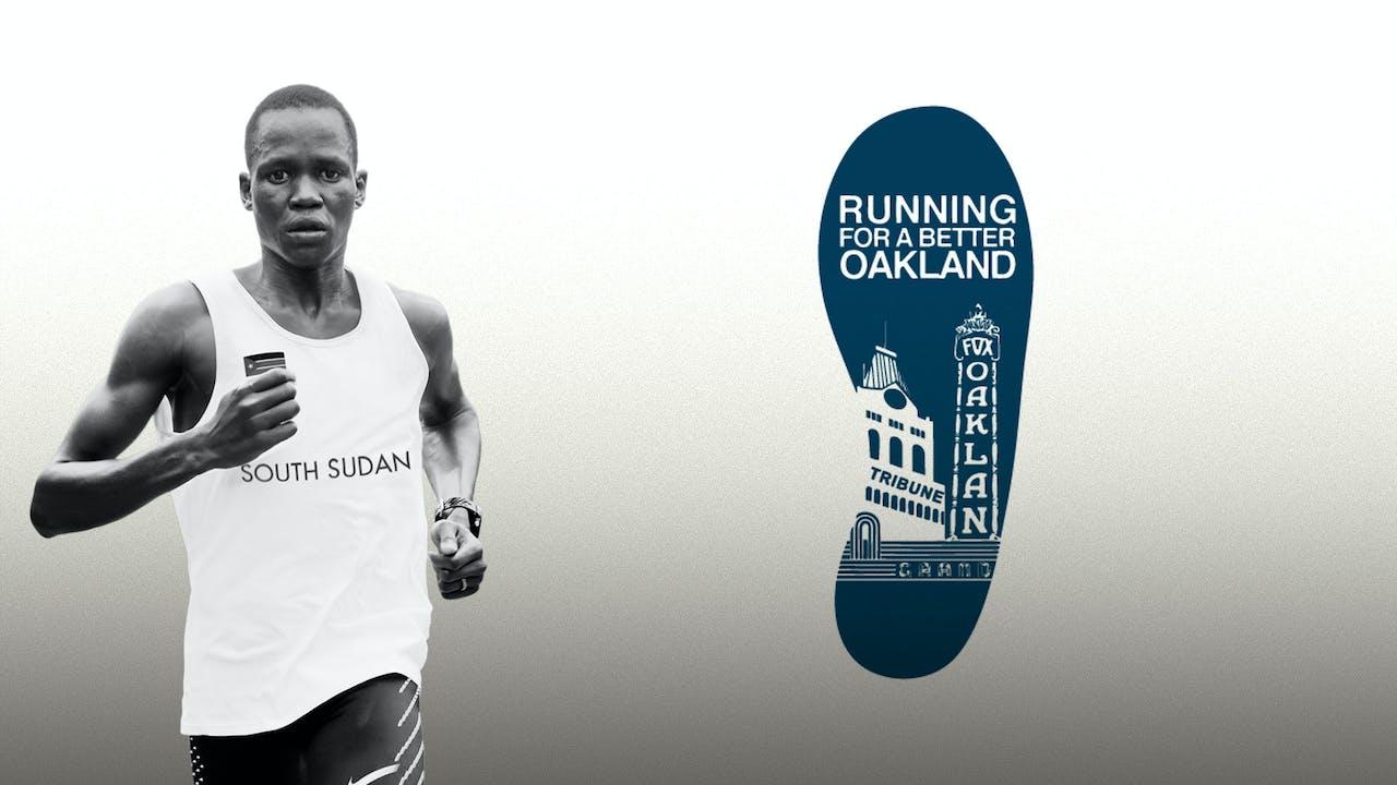 Runner hosted by Running For A Better Oakland