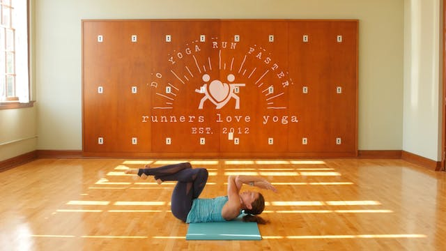 Runners Love Yoga: core workout