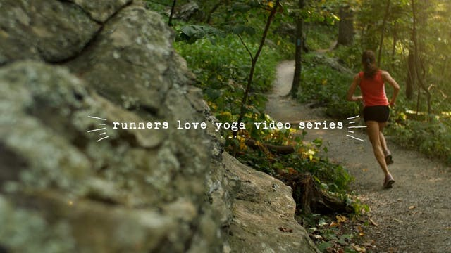 Runners Love Yoga Video Series Bundle
