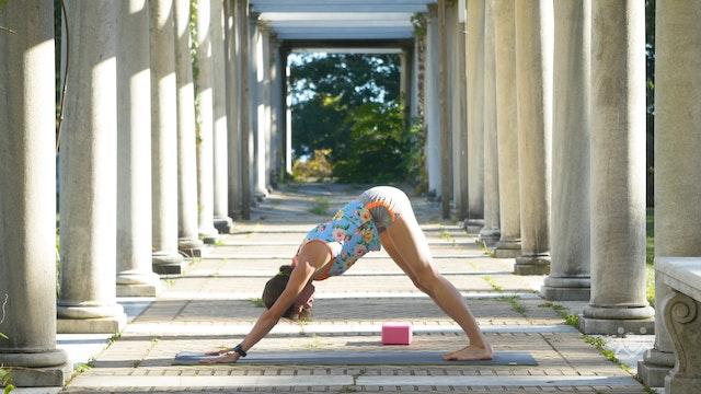 Yoga for Calves and Hamstrings