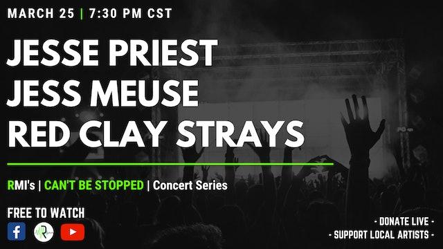 Jesse Priest | Jess Meuse | The Red Clay Strays (LIVE)