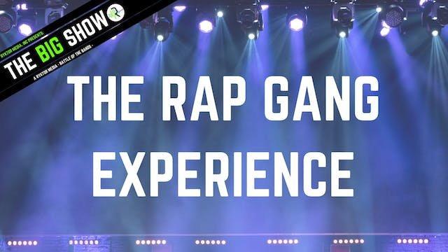 The Rap Gang Experience - High Road -...