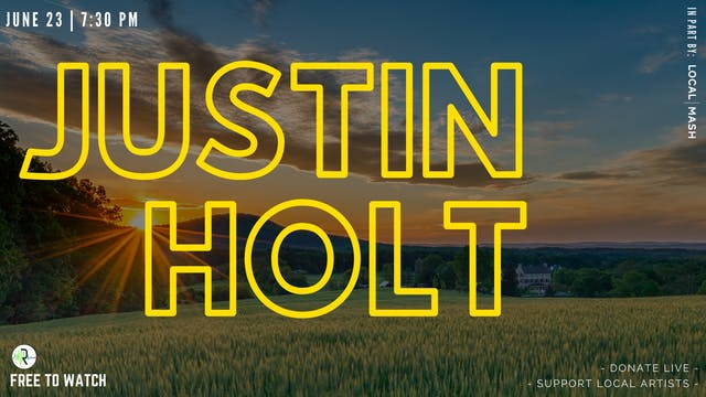 Justin Holt | Can't Be Stopped