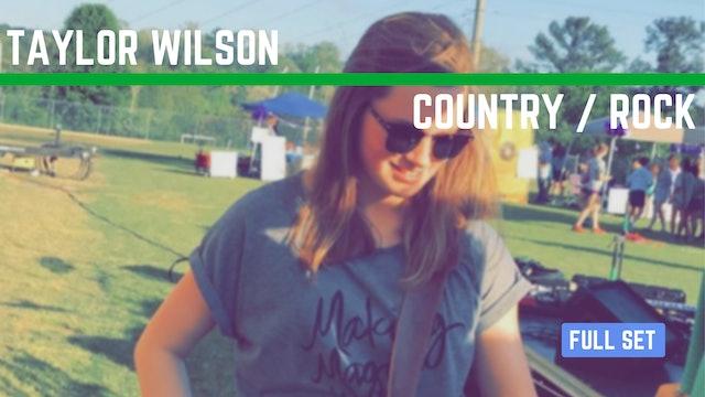 Taylor Wilson | 02/26/2019