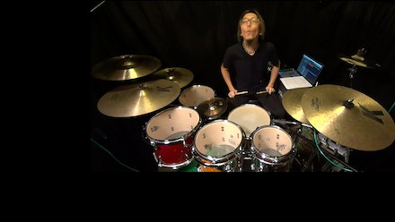 Ryo's drum lesson Video
