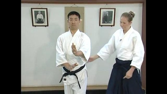 左半身の構え Hidari hanmi no Kamae
