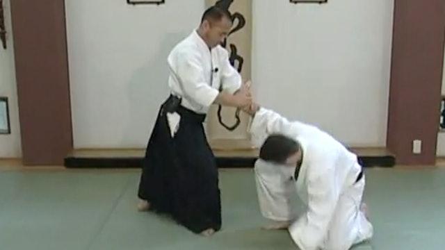 片手持ち二ヶ条抑え(一) Katate mochi nikkajo osae (1)