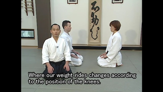 座り技編 The Secrets of Suwari waza