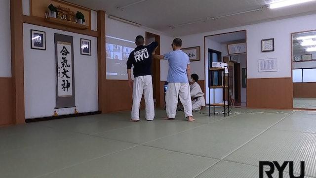 2021/7/3 龍オンラインfor all: 安藤師範 Ryu ZOOM Aikido: Ando Shihan