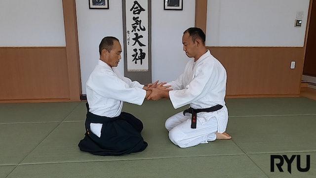 座り技両手持ち呼吸法(二)新!Suwari waza ryote mochi kokyuho  (2) NEW VERSION! 2021/09