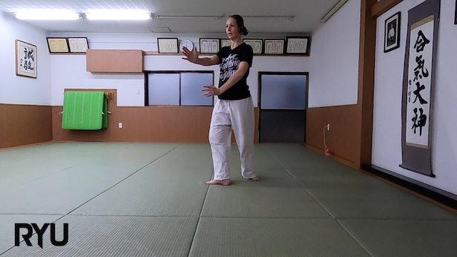 2021/5/22 龍オンラインfor allステファニー先生 Ryu Online for all ZOOM Aikido: Stephanie Sensei